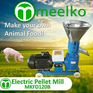 Pellet Mill 4hp 3kw Electric For In Us Stock 5 Mm Die For Pork