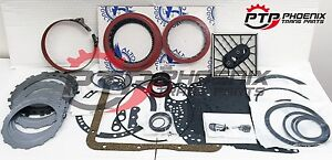 Turbo 350 Master Rebuild Kit Alto Red Eagle High Performance Clutches