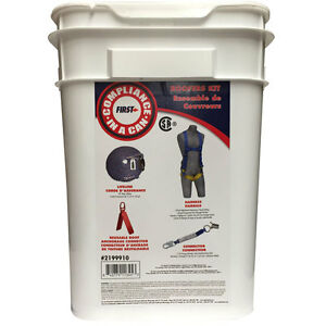 Fall Protection Roofer s Kit Universal Safety Harness Csa And Ansi Approved