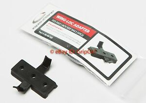 GENUINE OPS-CORE Tactical Helmet ARC Rail Accessory Wing-Loc Adaptor NEW NIP