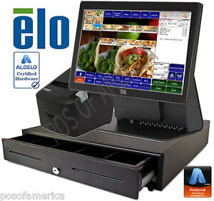 Aldelo pro Elo Mexican Restaurant All in one Complete Pos System New