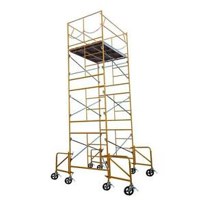 Fortress Industries Ft0715sc 16 Ft X 7 Ft X 5 Ft Rolling Scaffold Tower