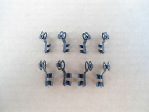 8 Old School Throttle Rod Linkage Clips Ford 1950 S Up Trucks Cars 3611 14x