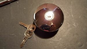1967 1968 1969 1970 1971 Chevrolet Gmc Truck Gas Cap Locking Chrome New