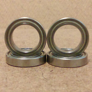 1 2 Inch Bore 4 Radial Ball Bearing metal 1 2 X 3 4 X 5 32 Lowest Friction