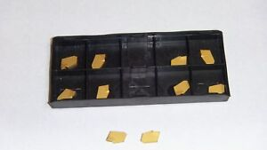 New 10pcs Gtn 2 Tin Carbide Inserts