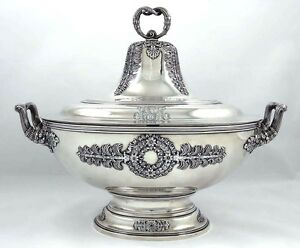 Tiffany Sterling Soup Tureen 71 Oz