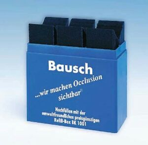 Dental Bausch Articulating Paper Blue Color 300 Strips Bk 01 4 Packs
