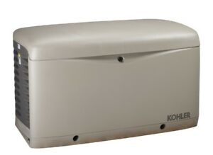 Kohler 14kw Stationary Back up Power Generator Lp Vapor Or Natural Gas 14resa