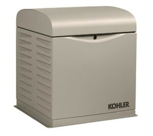Kohler 12kw Stationary Back up Power Generator Lp Vapor Or Natural Gas 12resv