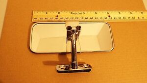 Chevy Hot Rod Vintage Bomber Inside Interior Rear View Mirror