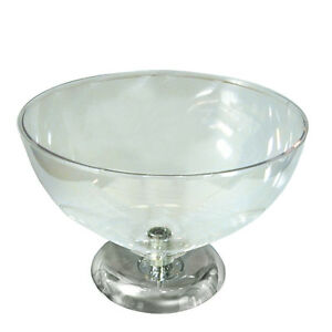 New Retails Clear Polycarbonate Single Bowl Counter Display 16 Diameter