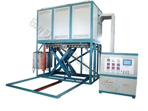 1200 Lifting Vacuum Atmosphere Furnace For Heating Treatment With Pid Control
