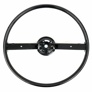 70 71 72 73 Ford Mustang Steering Wheel Only 2 Spoke W Horn Bars