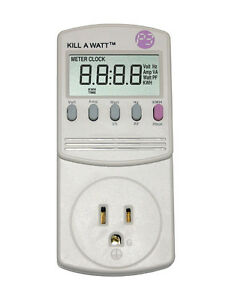 P3 Kill A Watt Power Meter See How Much Energy You Use