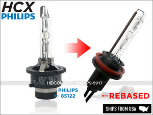 New Hcx Philips Oem Xenon Hid 4300k To Fit 9006 Hb4 Halogen Replacement Bulbs