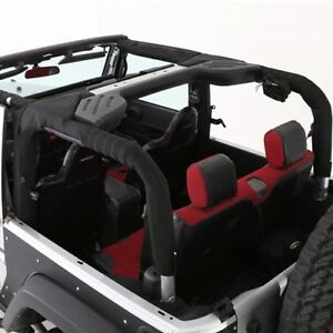 Smittybilt Molle Replacement Roll Bar Padding For 2007 2018 2 door Jeep Wrangler