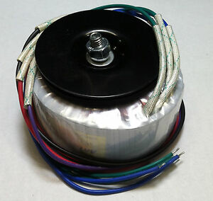 Diy Hifi Toroidal Power Transformer 400va 38v X2 76v Ct P n As 4438