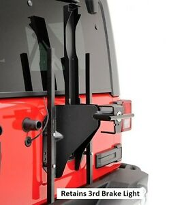 Smittybilt Src Lockable Oversized Tire Carrier For 2007 2018 Jeep Wrangler Jk