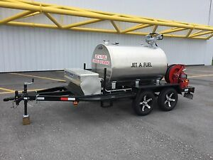 Fuel Trailer 500 Gallon Aircraft Refueler