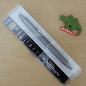 Pilot Frixion Ball Biz 2 0 38mm Erasable Gel Ink Pen Gray Body