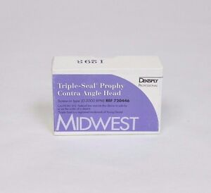 New Midwest Triple seal Prophy Contra Angle Dental Handpiece