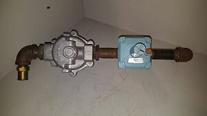 Asco Maxitrol Gas Valve Train Assembly Imp 52