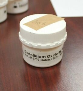 Gadolinium Oxide Powder Gd2o3 Weight 50g Purity 99 999 Interachem A08