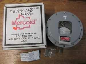 New Nos Mercoid Pgw 153 p1 Gas Pressure Differential Pressure Switch