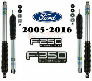 Bilstein B8 5100 Shock Absorbers Monotube Front Rear F 250 F 350 Super Duty