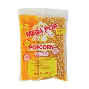Megapop Popcorn 8 Oz Kit 36 case