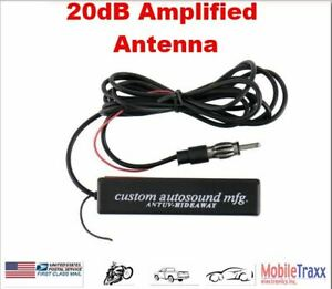 20 Db 12v Am Fm Antenna Amplifier Booster