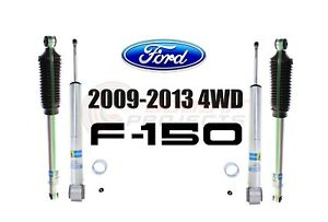 Bilstein B8 5100 Adjustable Front Shocks W Rear Set For 09 13 Ford F 150 4wd