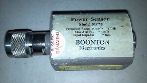 Boonton 51075 Power Sensor 500khz 18ghz