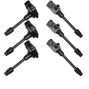 Set Of 6 Ignition Coils On Plug Pack For Nissan Maxima 1995 1996 Uf138 Uf263