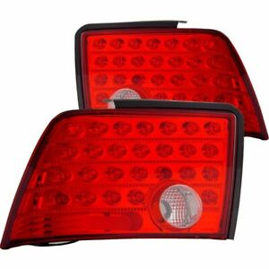 For 1999 2004 Ford Mustang Led Tail Lights Red Clear Pair Lh rh