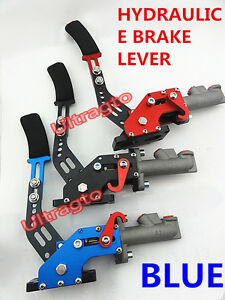 Blue Hydraulic Drift Rally E Brake Handle Racing Off Parking Handbrake Lever