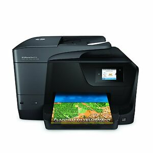 Hp Business Officejet Pro Wireless All in one Color Photo Print Copier Fax Scan