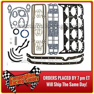 New Sbc Chevy Mr Gasket Kit 283 327 350 383 Complete Overhaul Gasket Set 7100