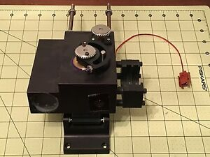 Olympus Spectra Tech Nicolet Raman Unknown Microscope Section