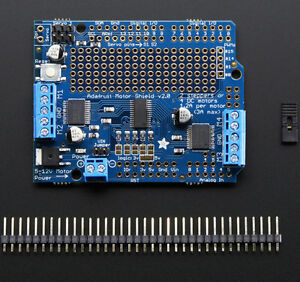 Adafruit Motor stepper servo Shield F r Arduino Uno mega Kit V2 3 1438
