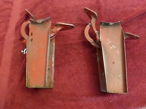 Corvette C1 1956 62 Trunk And Deck Lid Hings Left And Right