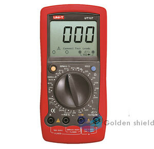 Uni t Ut107 Portable Digital Automotive Tester Voltage Temp Multimeter Meter