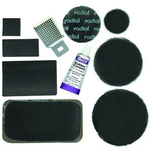 60 Pc Auto Car Radial Tire Repair Innertube Rubber Hole Patch Kit
