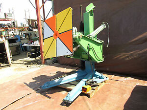 P h Model Wp 3 Heavy Duty 3000 Lb Capacity Welding Positioner