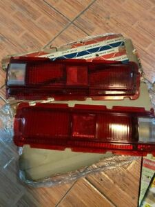 Datsun 1600 510 Sss Bluebird Taillight Rear Lamps Lens Red Genuine Nos 69 73