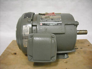 Electric Motor For Hazardous Location Us Electrical Motors 1 25 Hp 208 Volts