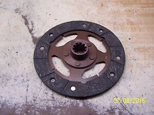 International Farmall Cub Tractor Clutch Disc