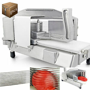 Tomato Slicer Commercial Restaurant Grade Cutting Machine Food Equipment Deli
