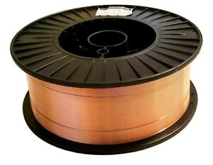 40 Lb 035 Spool Mild Steel Mig Welding Wire Roll Er70s 6 Copper Coated